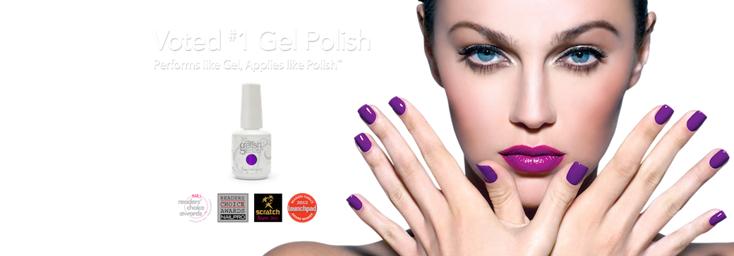 Gelish Logo & Bottles